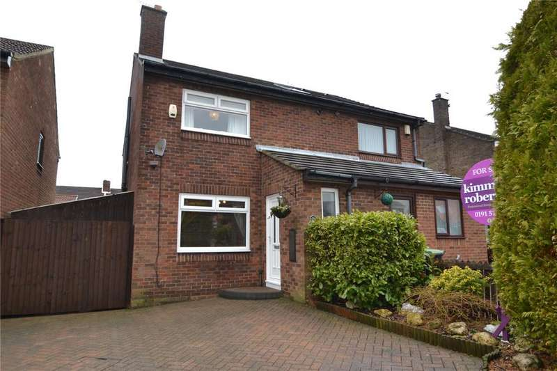2 Bedrooms Semi Detached House for sale in Hamilton Court, Shotton, Co.Durham, DH6