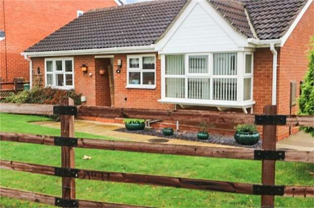2 Bedrooms Detached Bungalow for sale in Country Meadows, Market Drayton, Shropshire