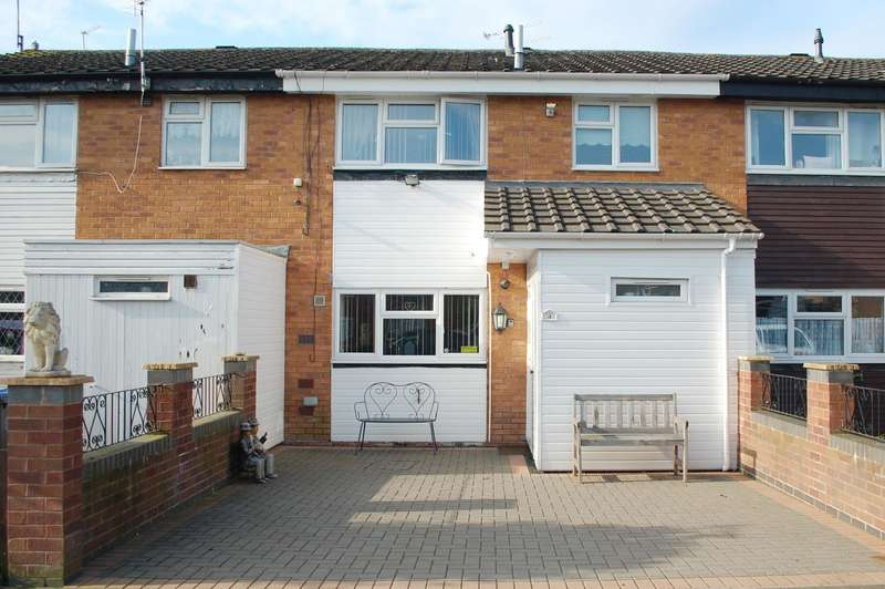3 Bedrooms Terraced House for sale in Kingley Avenue, Alcester, B49