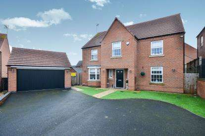 4 Bedrooms Detached House for sale in Rosefinch Way, Forest Town, Mansfield, Nottinghamshire