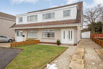 3 Bedrooms Semi Detached House for sale in Greenacres View, Motherwell