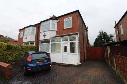 3 Bedrooms Semi Detached House for sale in Leyland Avenue, Gatley, Cheadle, Cheshire