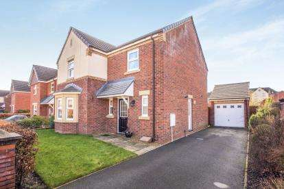 4 Bedrooms Detached House for sale in Lancashire Drive, Buckshaw Village, Chorley, Lancashire