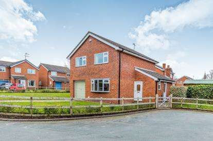 4 Bedrooms Detached House for sale in Oakfield Avenue, Wrenbury, Nantwich, Cheshire
