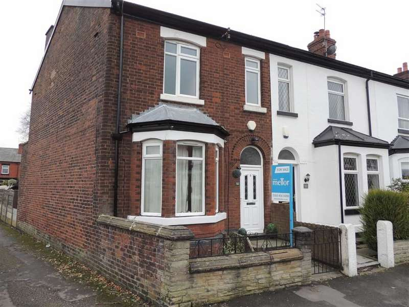 3 Bedrooms End Of Terrace House for sale in Davenport Road, Hazel Grove, Stockport