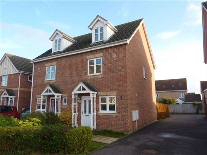 3 Bedrooms Detached House for rent in Redwood Avenue, Sleaford, Lincs