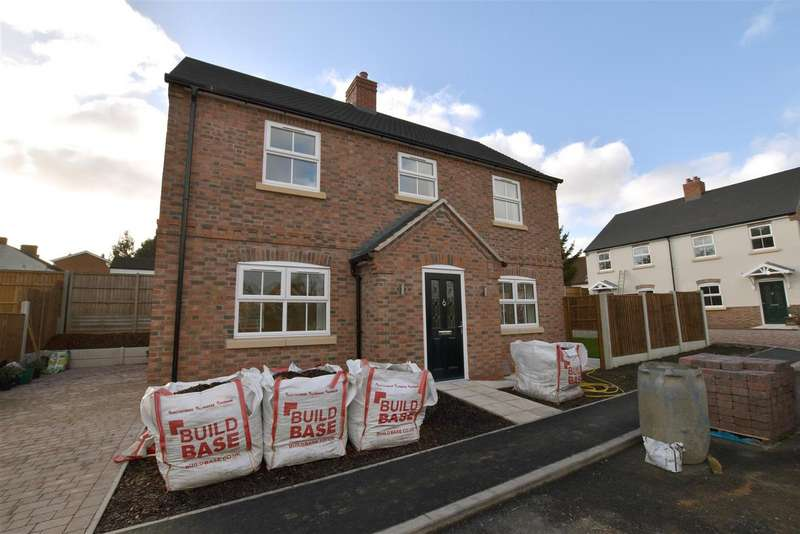 3 Bedrooms Property for sale in Old Forge Close, Kegworth, Derby