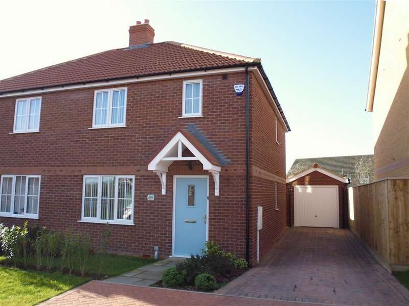 3 Bedrooms Detached House for sale in Hutton Way, Faldingworth, Market Rasen