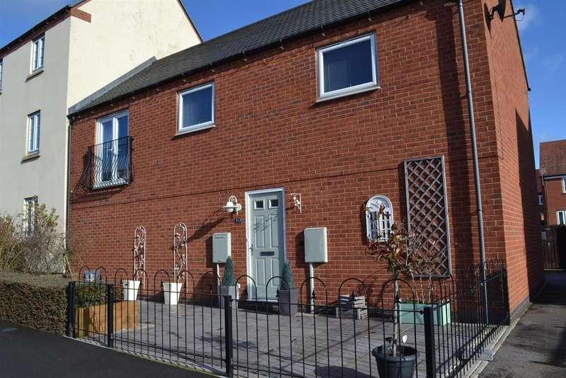 2 Bedrooms Property for sale in Edinburgh Road, Church Gresley, Swadl...