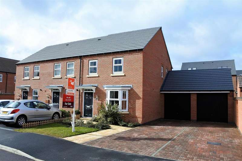 3 Bedrooms Property for sale in Peveril Place, Grantham