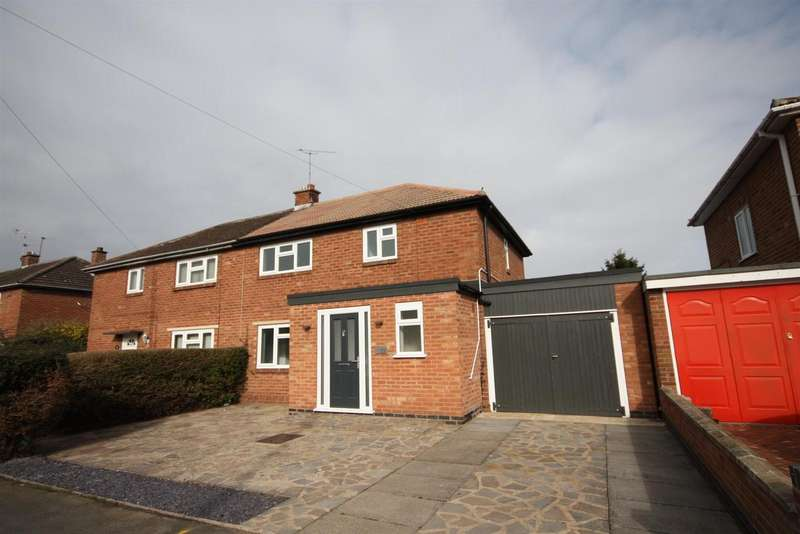 3 Bedrooms Detached House for sale in Lambourne Road, Leicester
