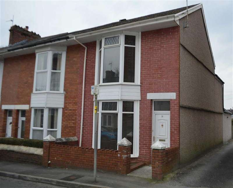 3 Bedrooms End Of Terrace House for sale in Cory Street, Swansea, SA2