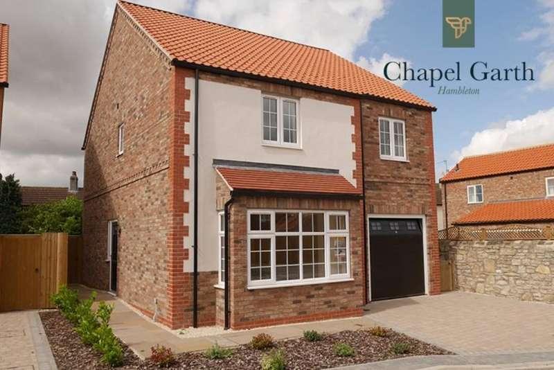 4 Bedrooms Detached House for sale in Plot 2, The Rosslyn, Chapel Garth, Hambleton, YO8 9JG