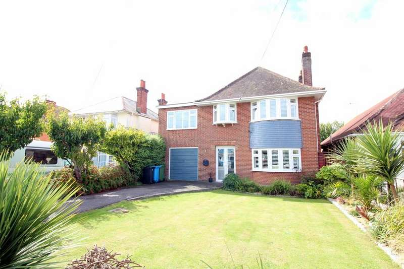4 Bedrooms Detached House for sale in Lulworth Avenue, Poole