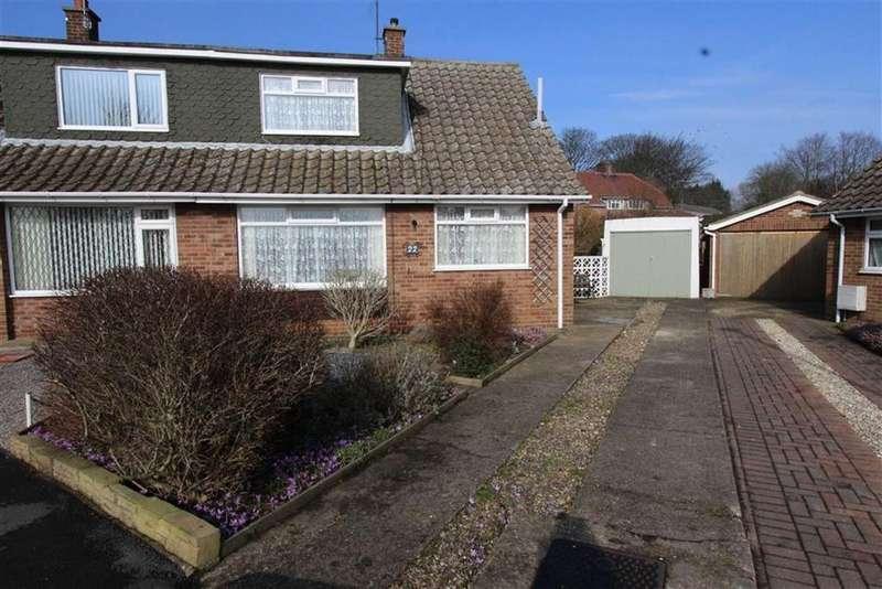 3 Bedrooms Semi Detached House for sale in Wayside Crescent, Bridlington, East Yorkshire, YO16