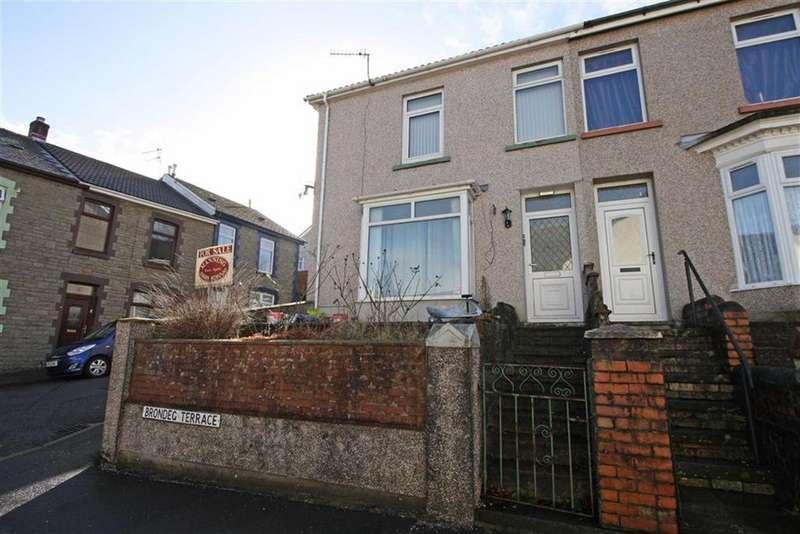 3 Bedrooms End Of Terrace House for sale in Brondeg Terrace, Aberdare, Mid Glamorgan