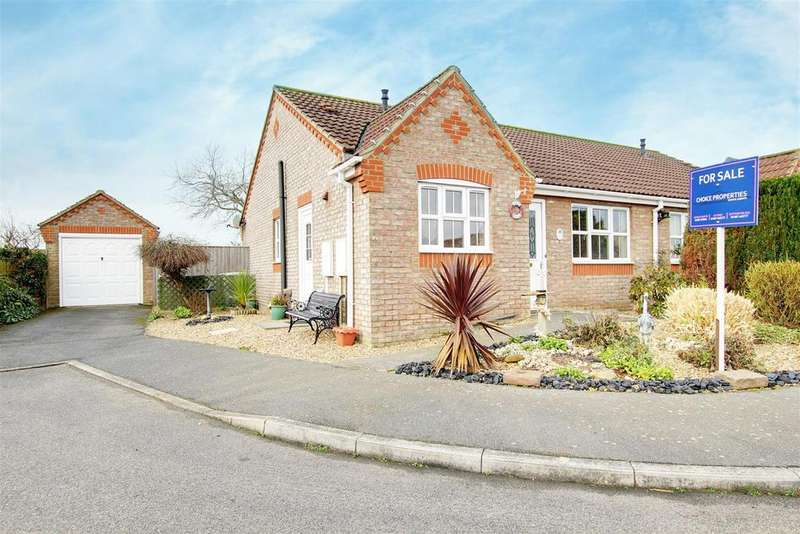 2 Bedrooms Semi Detached Bungalow for sale in Aqua Drive, Mablethorpe