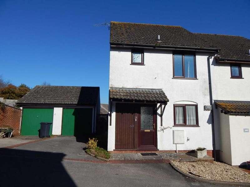 2 Bedrooms Semi Detached House for sale in Greenclose Court, Colyton, Devon