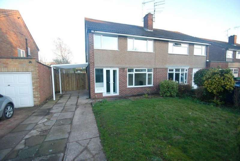 3 Bedrooms House for rent in Tiverton Avenue, Baswich, Stafford, ST17 0HA