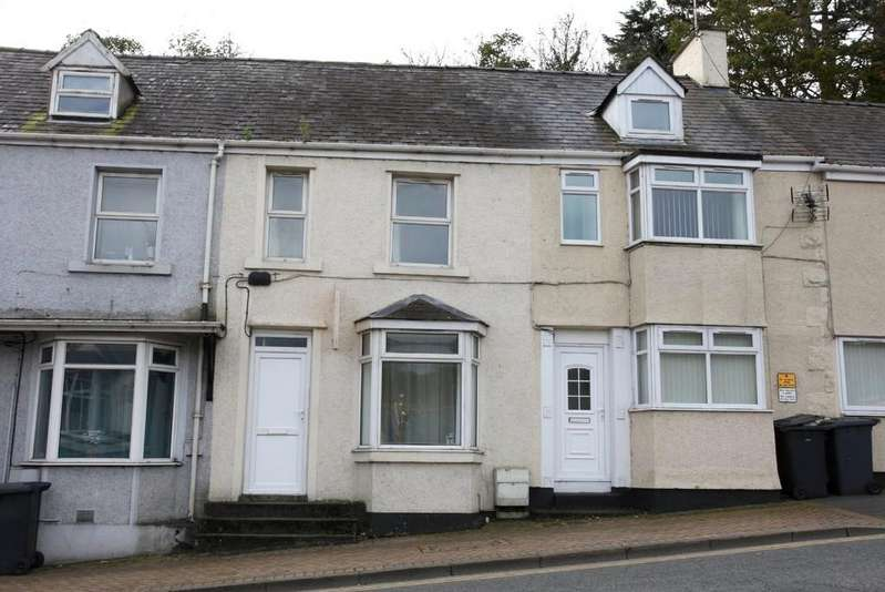 2 Bedrooms Terraced House for sale in High Street, Llangefni, North Wales