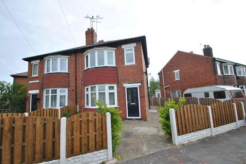 3 Bedrooms Semi Detached House for sale in Westerdale Road, Scawsby, Doncaster, DN5 8RE