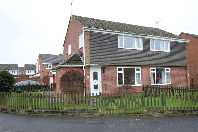 3 Bedrooms Semi Detached House for rent in Sycamore Close, Holmes Chapel, Crewe, CW4