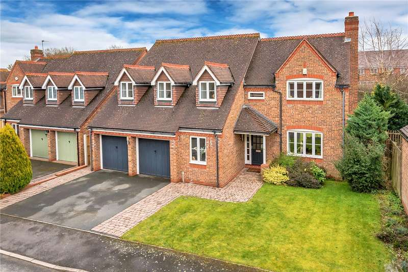 5 Bedrooms Detached House for sale in 6 Coalport Close, Broseley, Shropshire, TF12