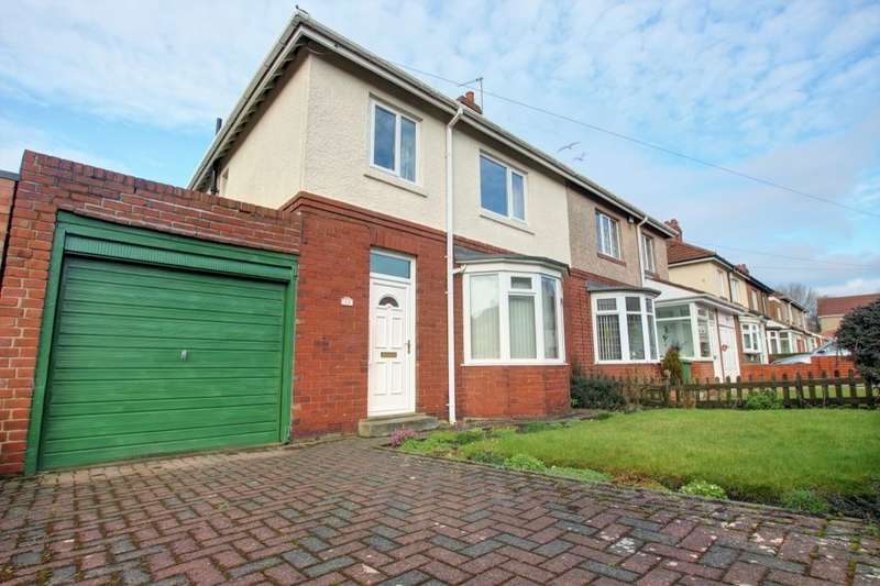 3 Bedrooms Semi Detached House for sale in Brixham Avenue, Gateshead, NE9