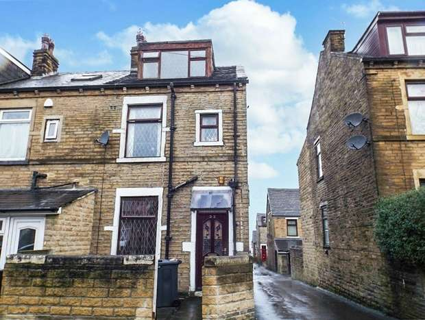 3 Bedrooms End Of Terrace House for sale in Sandford Road, Bradford, West Yorkshire