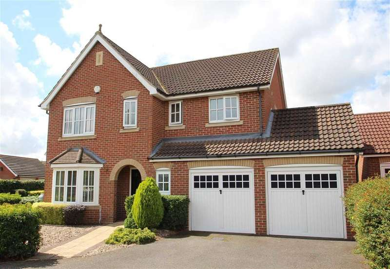 4 Bedrooms Detached House for sale in Jeavons Lane, Grange Farm, Kesgrave, Ipswich