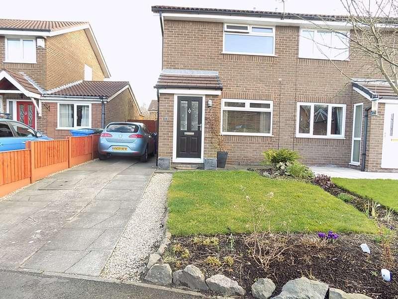2 Bedrooms Semi Detached House for sale in Keyes Close, Birchwood, Warrington, WA3