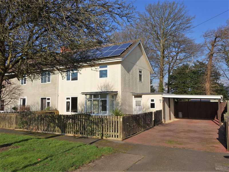 3 Bedrooms Semi Detached House for sale in Cadland Park, Holbury