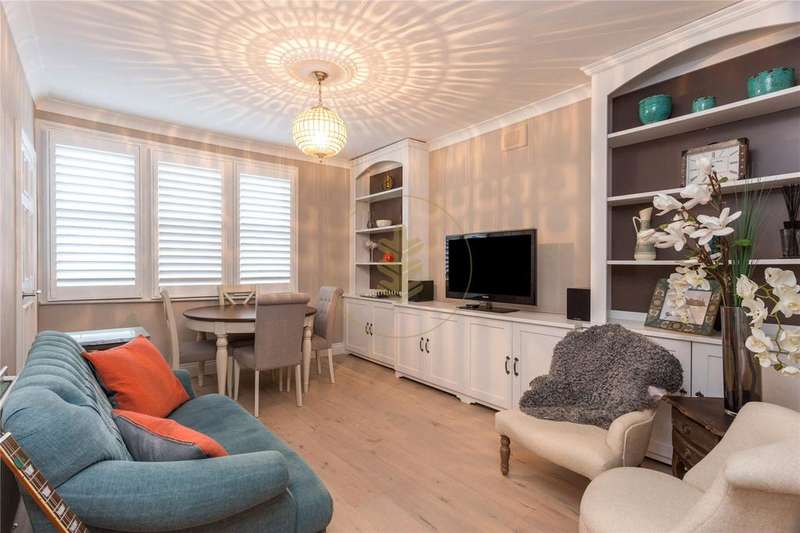 2 Bedrooms Apartment Flat for sale in Weech Road, West Hampstead, London, NW6