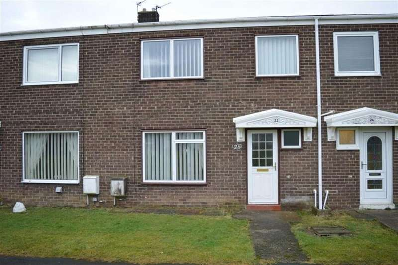 3 Bedrooms Terraced House for sale in Grange Court, Morpeth, Northumberland