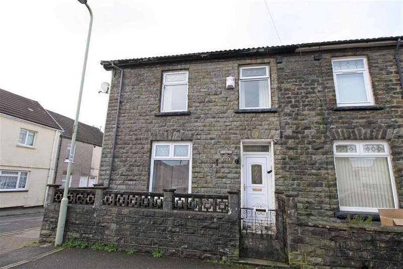 3 Bedrooms End Of Terrace House for sale in Jenkin Street, Aberdare, Mid Glamorgan