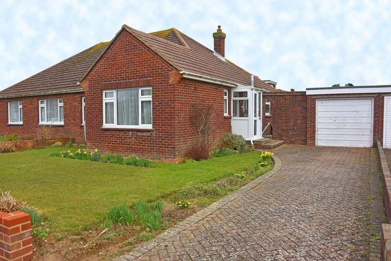 2 Bedrooms Semi Detached Bungalow for sale in Heathfield Close, Worthing