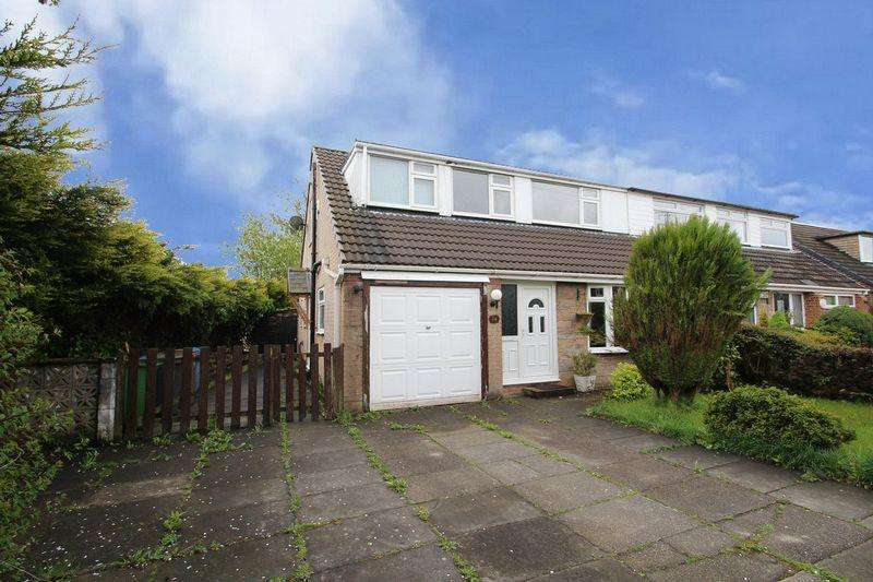 3 Bedrooms Semi Detached House for sale in Greenvale, Bamford, Rochdale OL11 5QJ