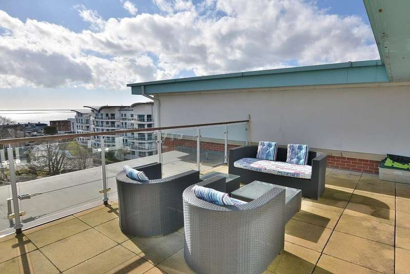2 Bedrooms Penthouse Flat for sale in Breeze, 4 Owls Road, Bournemouth