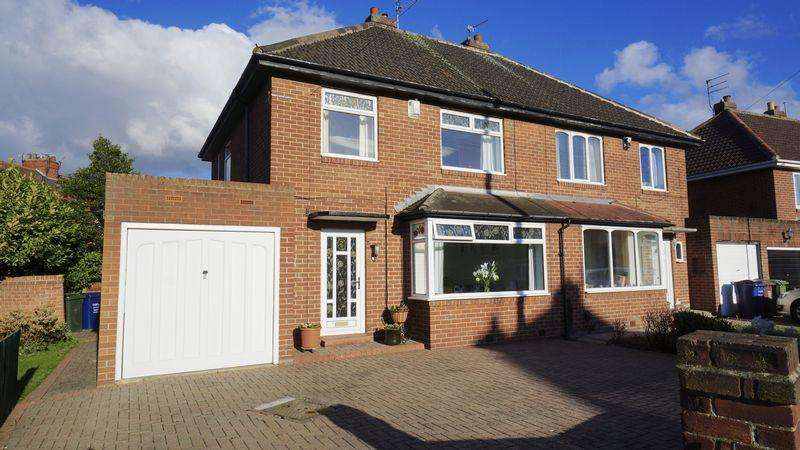 3 Bedrooms Semi Detached House for sale in Tudor Wynd, North Heaton