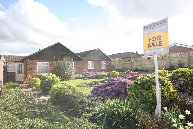 2 Bedrooms Detached Bungalow for sale in Cranmere Road, MELTON MOWBRAY