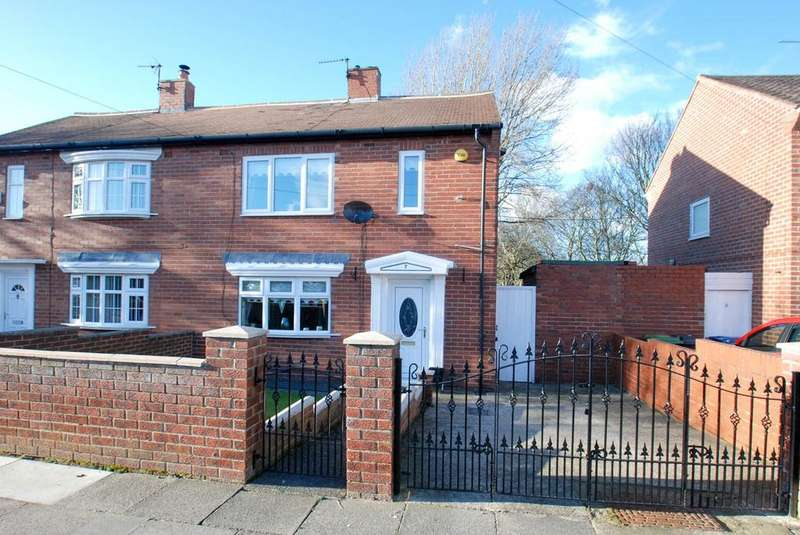 2 Bedrooms Semi Detached House for sale in Bainbridge Avenue, South Shields