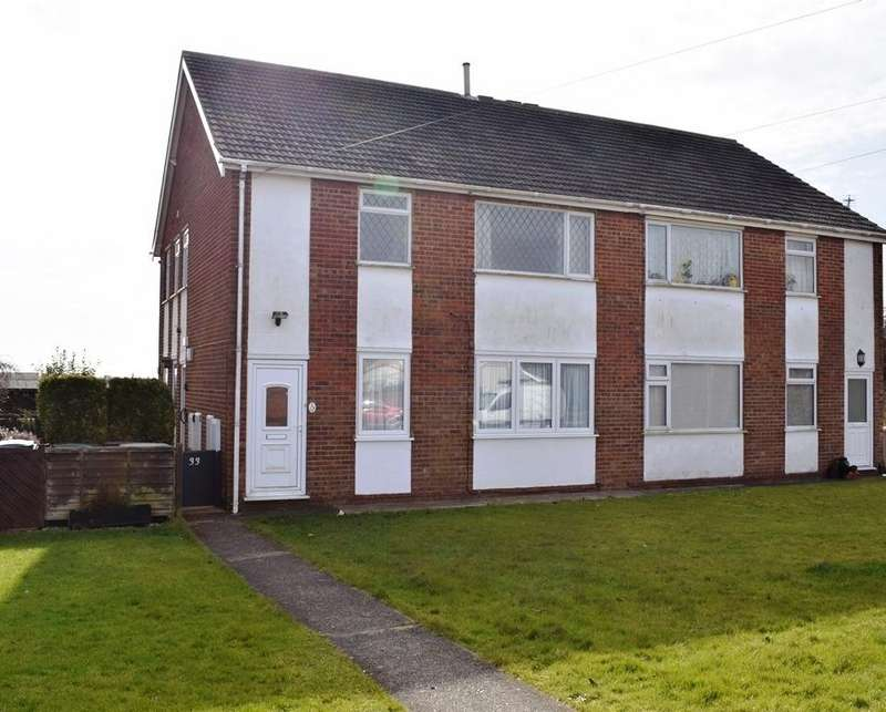 2 Bedrooms Ground Flat for sale in South View, Holton-le-Clay, DN36 5BW