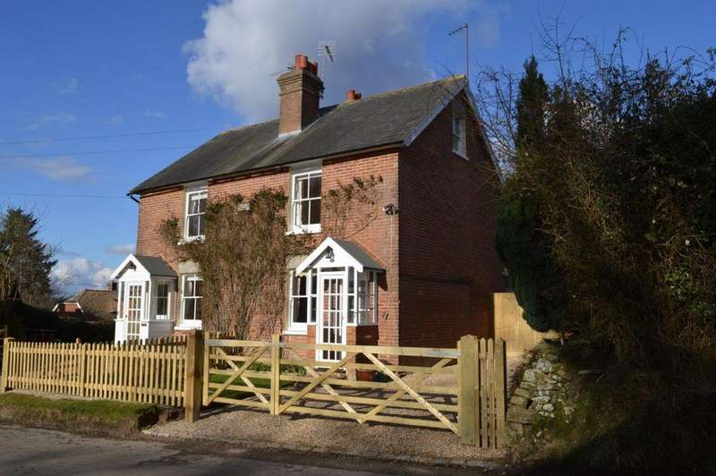 3 Bedrooms Semi Detached House for sale in Turners Green, Wadhurst TN5