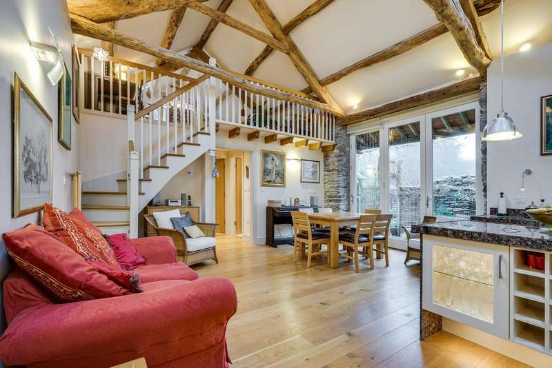 3 Bedrooms Barn Conversion Character Property for sale in Heaning Barn, Heaning Lane, Windermere, Cumbria, LA23 1JW
