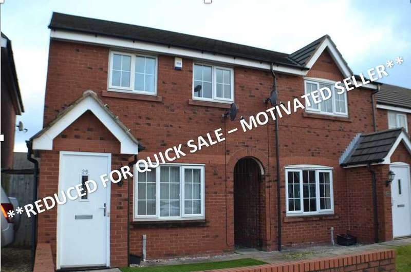 3 Bedrooms Mews House for sale in Harrison Close, Warrington, Warrington