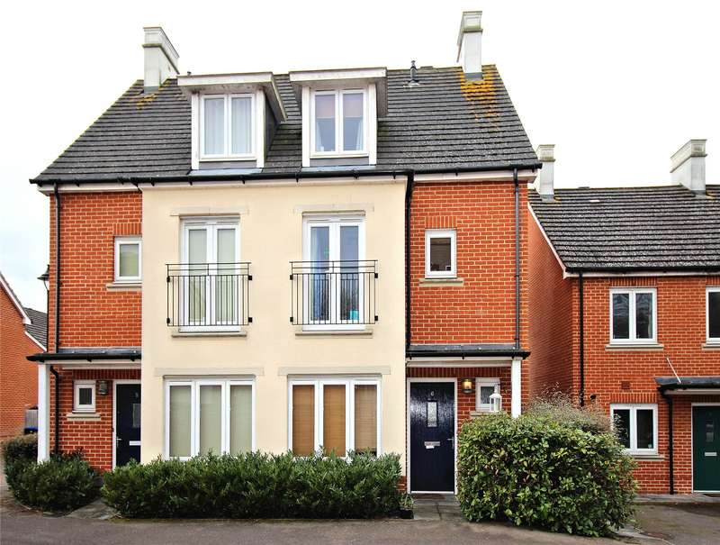 3 Bedrooms Semi Detached House for sale in Baynton Road, Woking, Surrey, GU22