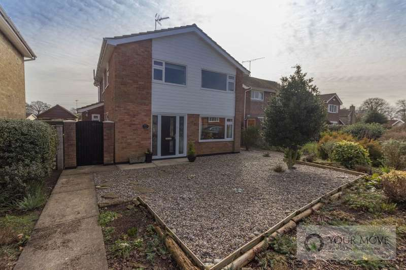 4 Bedrooms Detached House for sale in St. Peters Road, Carlton Colville, Lowestoft, NR33
