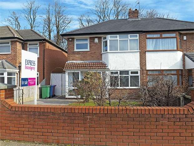 3 Bedrooms Semi Detached House for sale in Station Road, Woolton, Liverpool, Merseyside