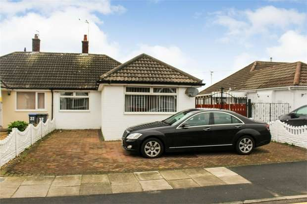 2 Bedrooms Semi Detached Bungalow for sale in Seabrook Drive, Thornton-Cleveleys, Lancashire