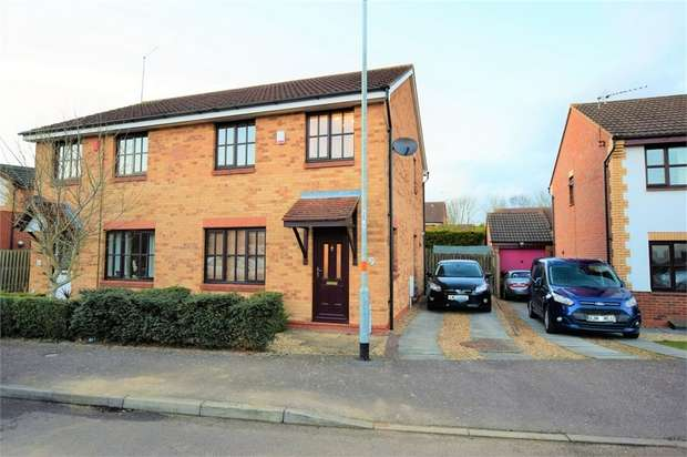 3 Bedrooms Semi Detached House for sale in Tate Grove, Hardingstone, Northampton